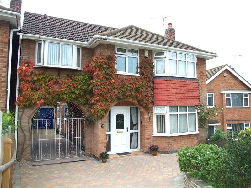 4 Bedrooms Detached House for sale in The Orchards, Allestree, Derby, Derbyshire, DE22