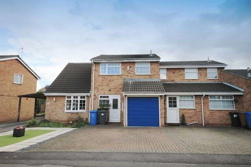 2 Bedrooms Terraced House for sale in SIMCOE LEYS, CHELLASTON