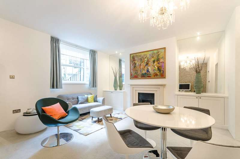 2 Bedrooms Flat for sale in Gloucester Street, Pimlico, SW1V