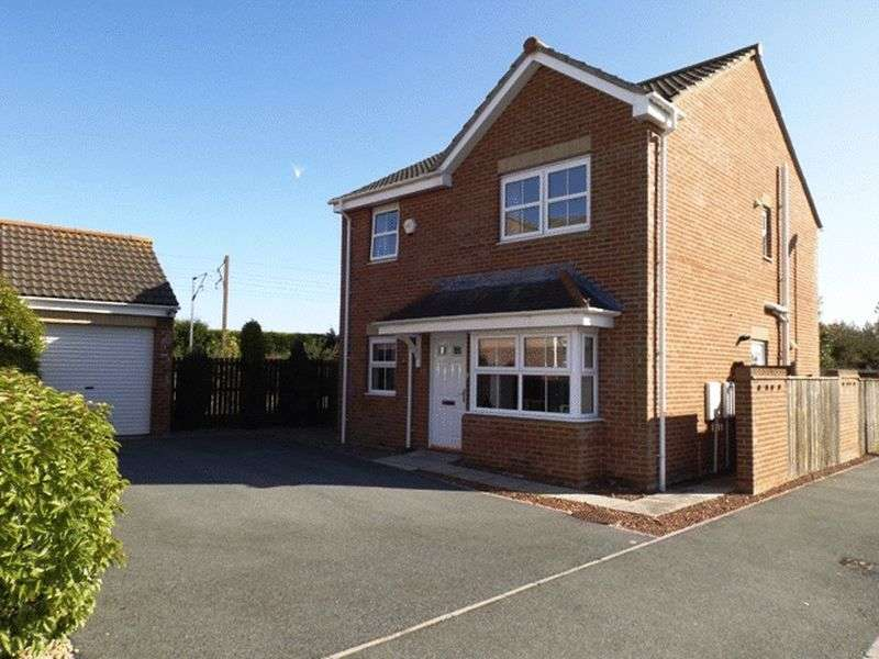 4 Bedrooms House for sale in Parkside Gardens, Widdrington - Four Bedroom Detached House