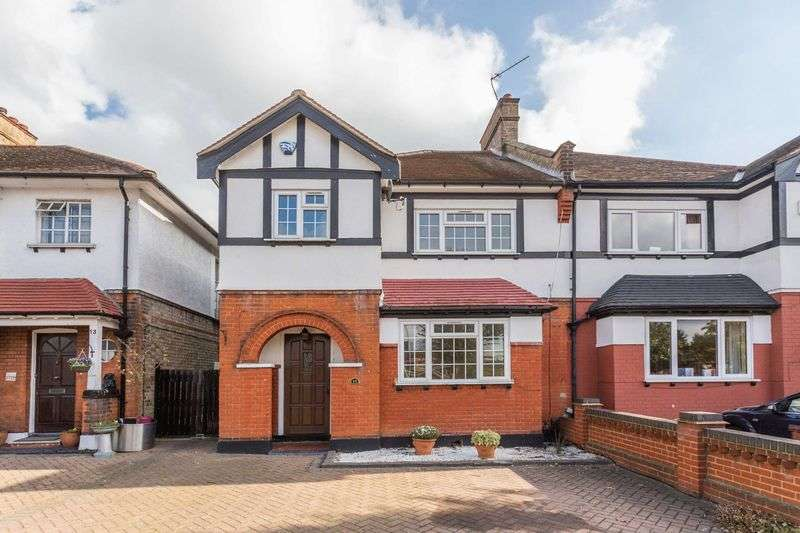 3 Bedrooms Semi Detached House for sale in Kings Road, North Chingford