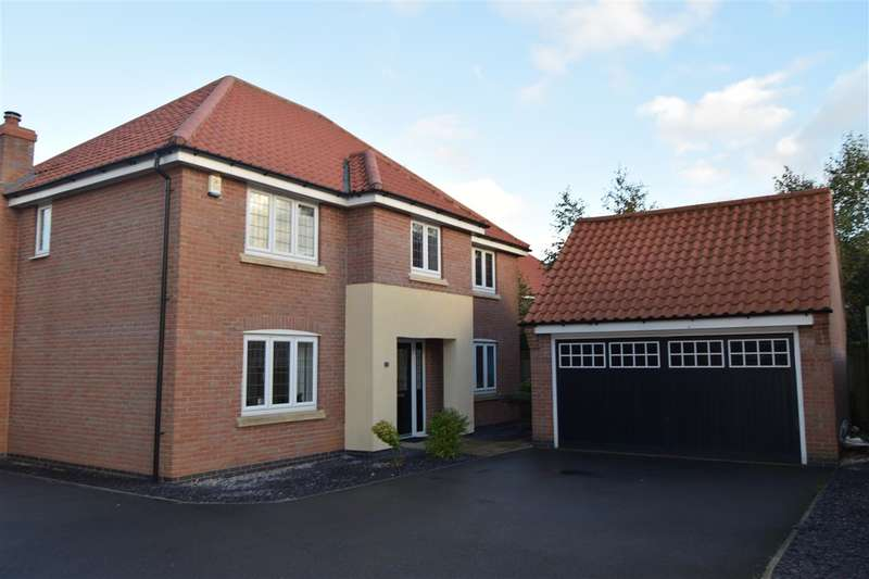 4 Bedrooms Detached House for sale in Carnell Lane, Fernwood, Newark