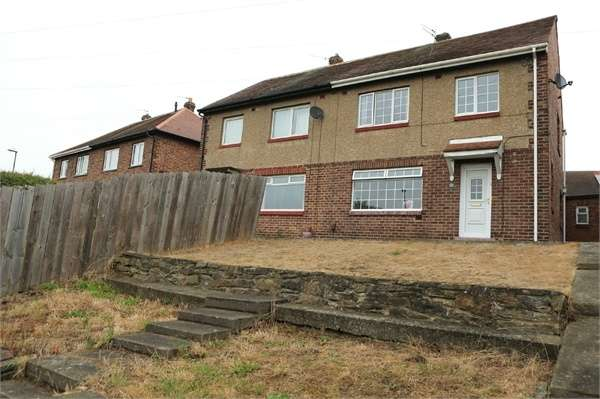 3 Bedrooms Semi Detached House for sale in Hedworth View, Jarrow, Tyne and Wear