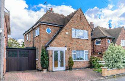 4 Bedrooms House for sale in Woodgate Drive, Birstall, Leicester, Leicestershire