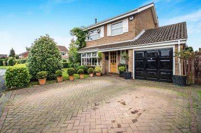 4 Bedrooms Detached House for sale in Coopers Walk, Bubbenhall, Coventry, England