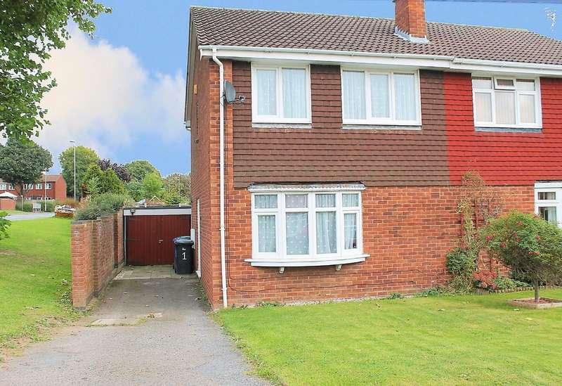 3 Bedrooms Semi Detached House for sale in Hebden, Wilnecote, B77 4HP
