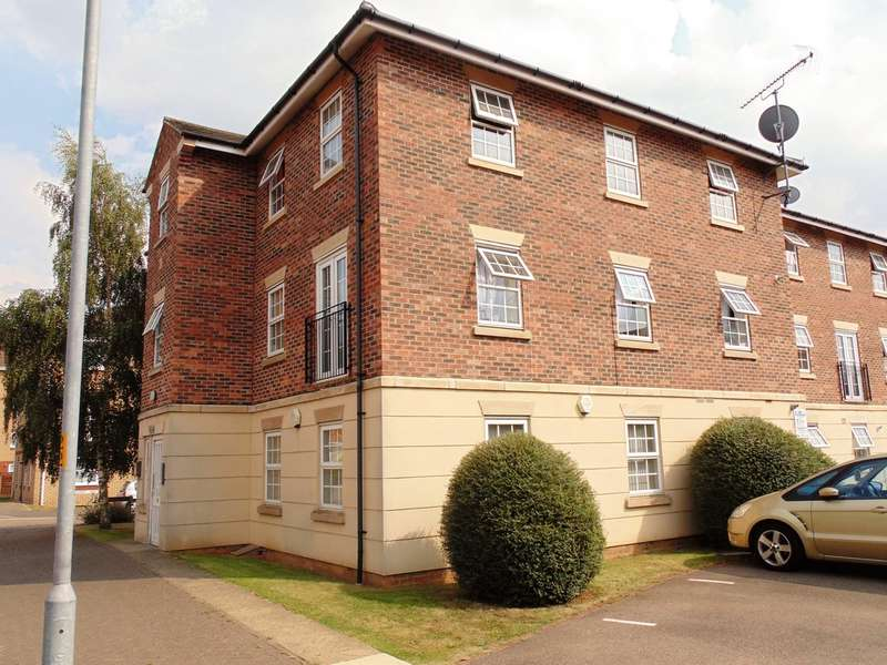 2 Bedrooms Flat for sale in Henry Bird Way, Northampton, NN4 8GA