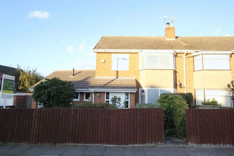 3 Bedrooms Semi Detached House for sale in Fleetcroft Road, Arrowe Park, Wirral