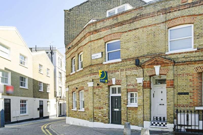 2 Bedrooms Maisonette Flat for sale in Sylvester Path, Hackney, E8