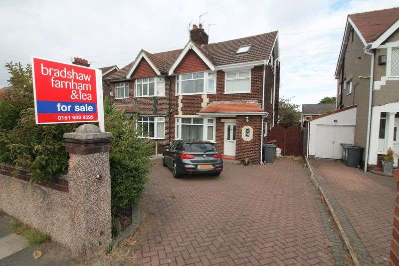 4 Bedrooms Semi Detached House for sale in Woodchurch Road, Prenton,