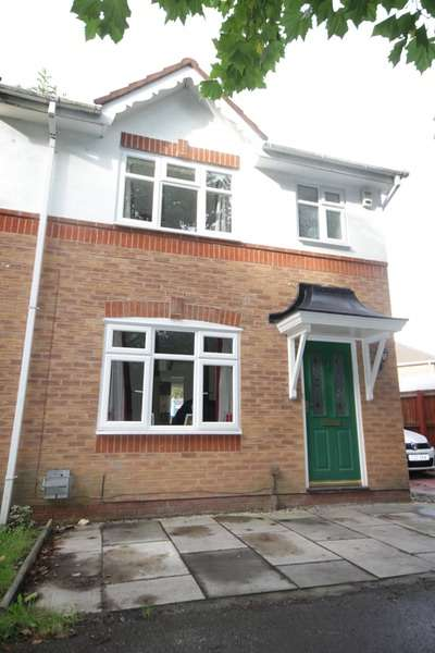 3 Bedrooms Semi Detached House for sale in Swanfield Walk, Golborne, Greater Manchester, WA3