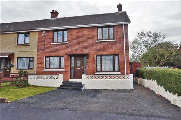 3 Bedrooms Semi Detached House for sale in Rhosyderi, TUMBLE, Llanelli