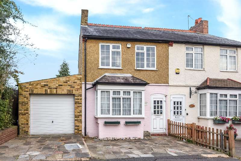 2 Bedrooms Semi Detached House for sale in Pages Cottages, Ducks Hill Road, Ruislip, Middlesex, HA4