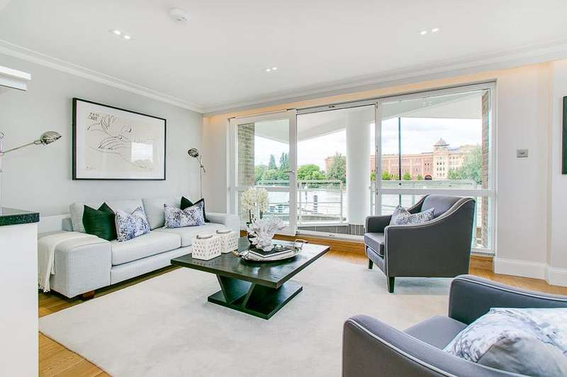 2 Bedrooms Property for sale in King Henry's Reach, Manbre Road, London, W6