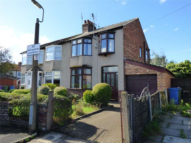 3 Bedrooms Semi Detached House for sale in Stoneycroft Crescent, Liverpool, Merseyside, L13