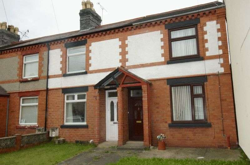 2 Bedrooms Terraced House for sale in Windsor Road, New Broughton, Wrexham