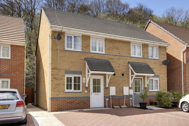 2 Bedrooms Semi Detached House for sale in Mill-Race, Newport