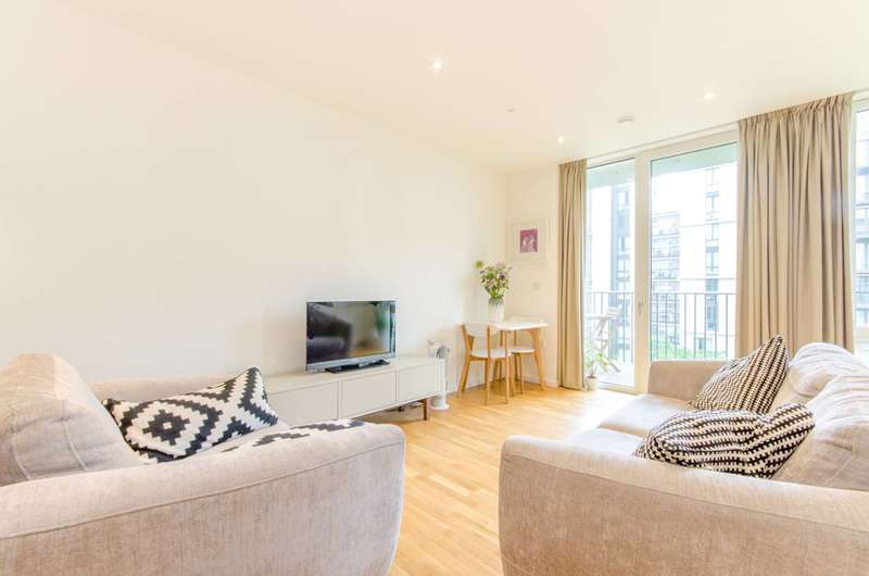 2 Bedrooms Flat for sale in Napa Close, Stratford, E20