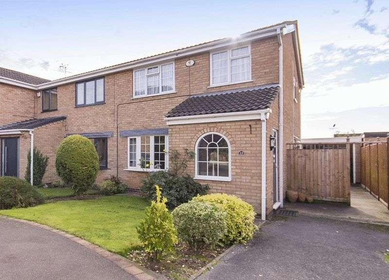 3 Bedrooms Semi Detached House for sale in AULTS CLOSE, FINDERN