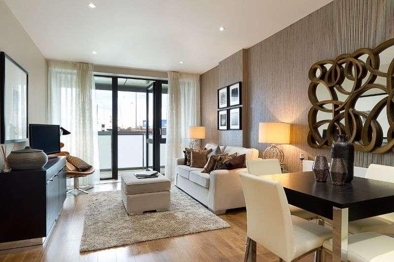 2 Bedrooms Flat for sale in Aberfeldy Village, E14