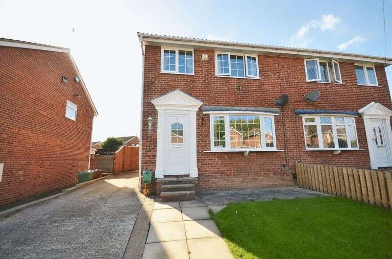 3 Bedrooms Semi Detached House for sale in Whitley Spring Crescent, Ossett, WF5 0RF