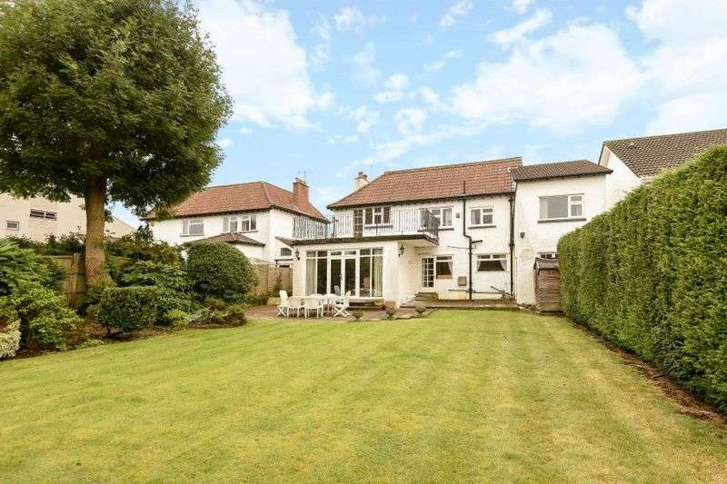 4 Bedrooms Detached House for sale in Grange Court Road, Henleaze