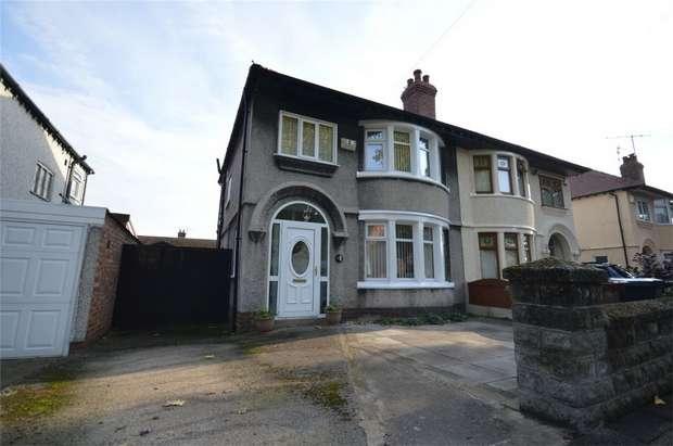 3 Bedrooms Semi Detached House for sale in Woodburn Boulevard, Bebington, Merseyside