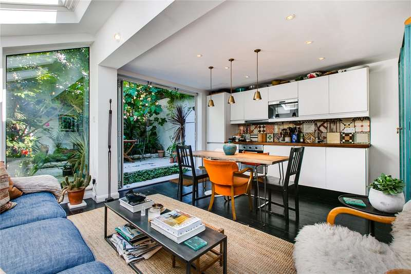 2 Bedrooms Ground Flat for sale in Mirabel Road, London, SW6