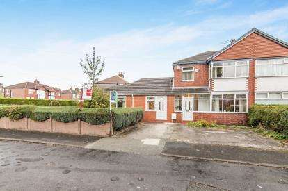 4 Bedrooms Semi Detached House for sale in Bradwell Avenue, Stretford, Manchester, Greater Manchester