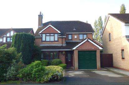 4 Bedrooms Detached House for sale in Kirkham Close, Great Sankey, Warrington, Cheshire
