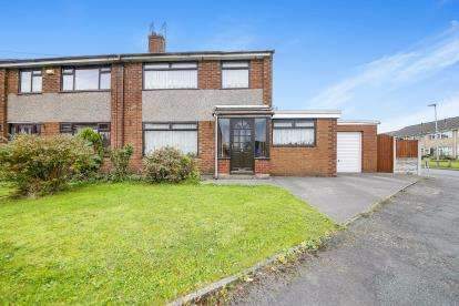 3 Bedrooms Semi Detached House for sale in Hilton Avenue, Great Sankey, Warrington, Cheshire