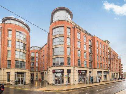 2 Bedrooms Flat for sale in Number One Fletcher Gate, Adams Walk, Nottingham, Nottinghamshire