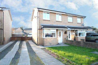 3 Bedrooms Semi Detached House for sale in Strathleven Drive, Bonhill, Alexandria