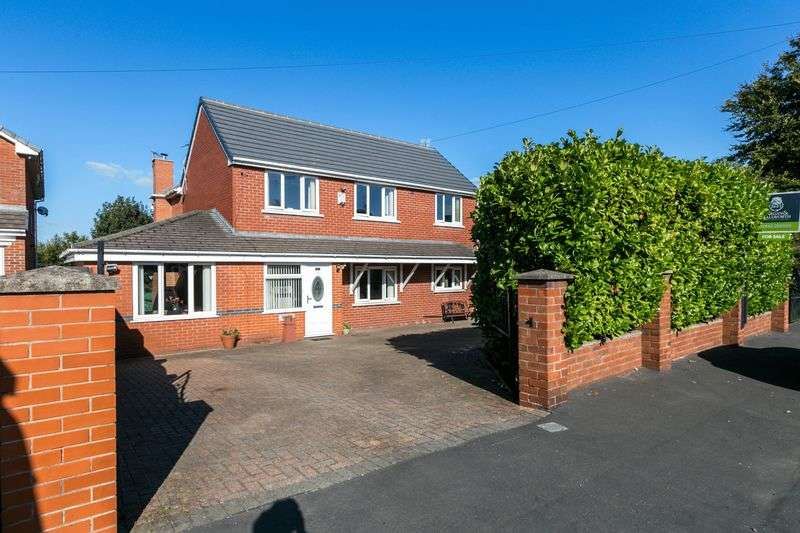 4 Bedrooms Detached House for sale in Leyland Green Road, Ashton-in-Makerfield, WN4 0QJ