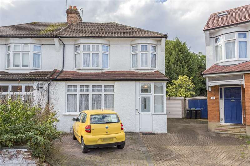 3 Bedrooms Semi Detached House for sale in Borden Avenue, Enfield, EN1