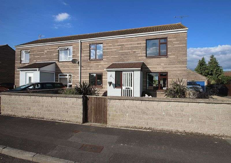 3 Bedrooms Semi Detached House for sale in Moor View Close, Meare
