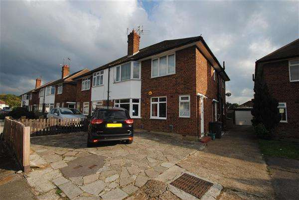 2 Bedrooms Maisonette Flat for sale in The Vale, Feltham