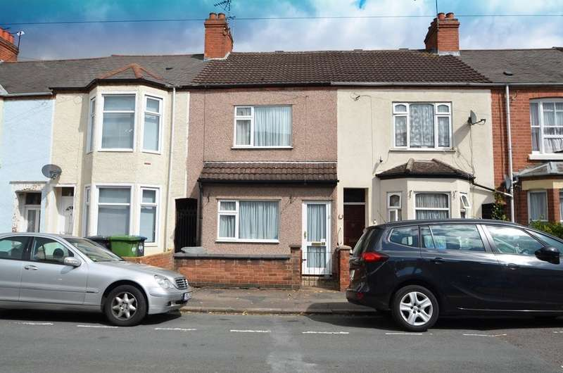 3 Bedrooms Terraced House for sale in Graham Road, Rugby