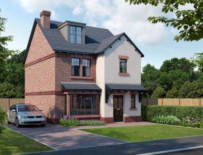 4 Bedrooms Detached House for sale in The Shires, Wood Lane, Beechwood, Runcorn, WA7