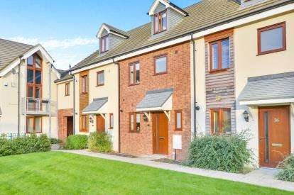 3 Bedrooms Terraced House for sale in Poppy Avenue, Broughton, Milton Keynes, Buckinghamshire