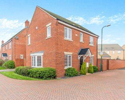 3 Bedrooms Detached House for sale in Juno Way, Cardea, Peterborough, Cambridgeshire