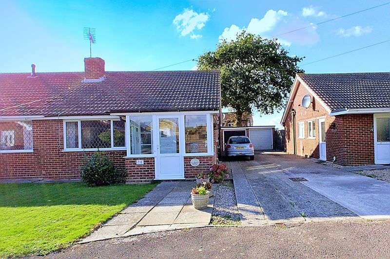 2 Bedrooms Semi Detached Bungalow for sale in Dukes Meadow, Bognor Regis PO21