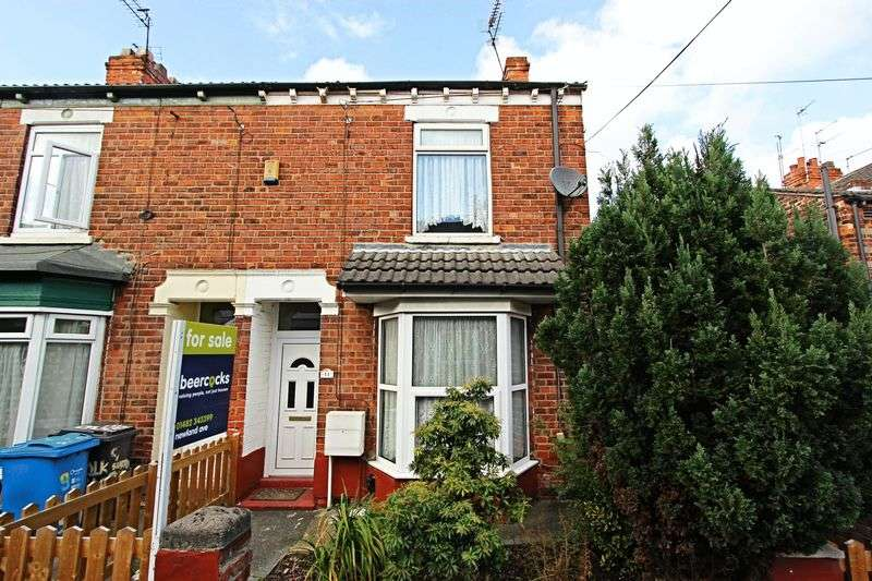 2 Bedrooms Terraced House for sale in Suffolk Terrace, Hull