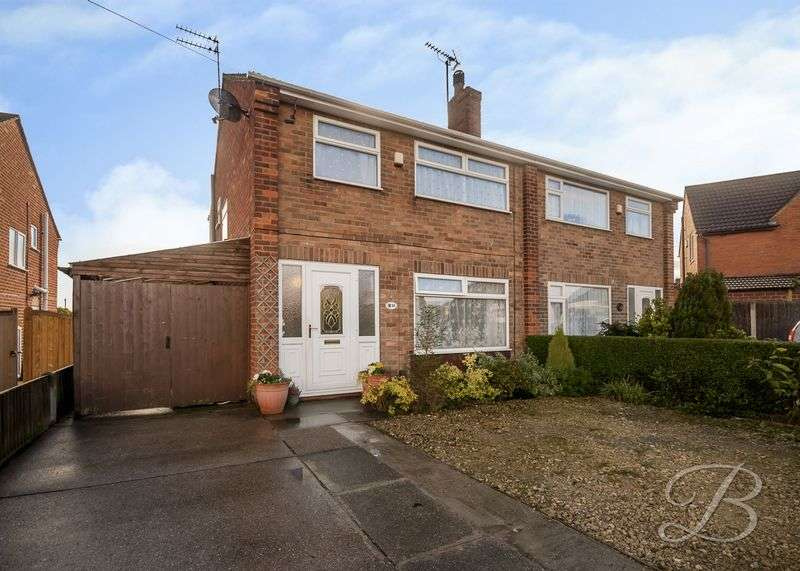 3 Bedrooms Semi Detached House for sale in Melbourne Street, Mansfield Woodhouse