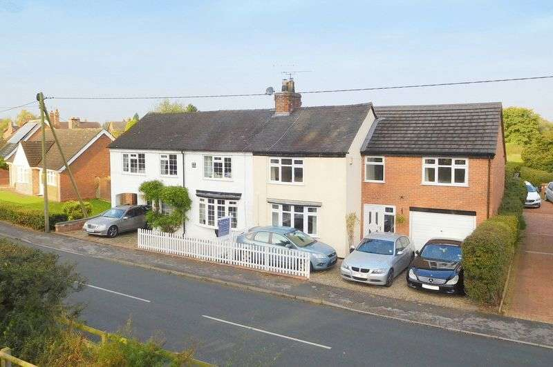 3 Bedrooms Semi Detached House for sale in Stock Lane, Wybunbury, Nantwich