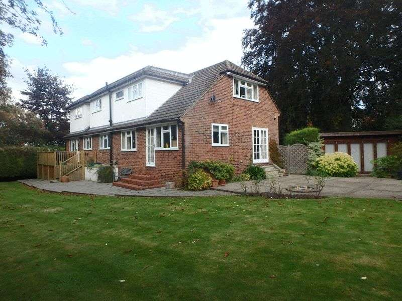 4 Bedrooms Detached House for sale in Burgh Heath Road, Epsom