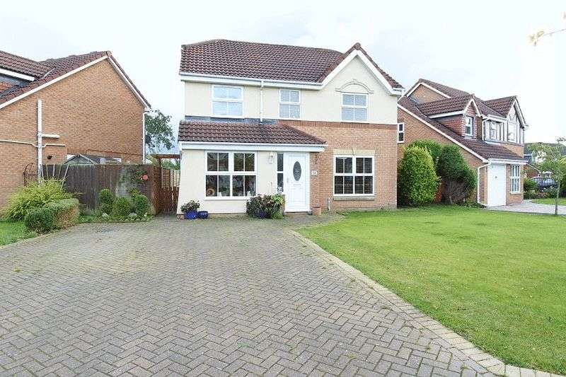 4 Bedrooms Detached House for sale in Antonine Way, Houghton