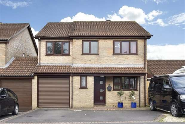 4 Bedrooms Link Detached House for sale in Stirling Way, Frome
