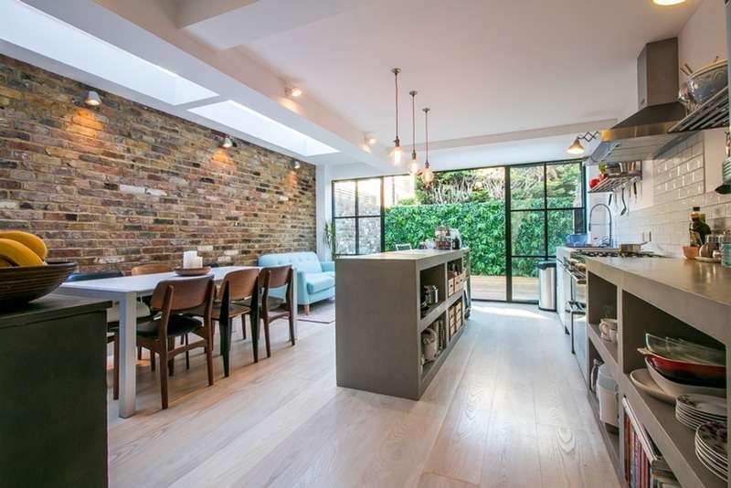 2 Bedrooms Maisonette Flat for sale in Kinnoul Road, London, London, W6
