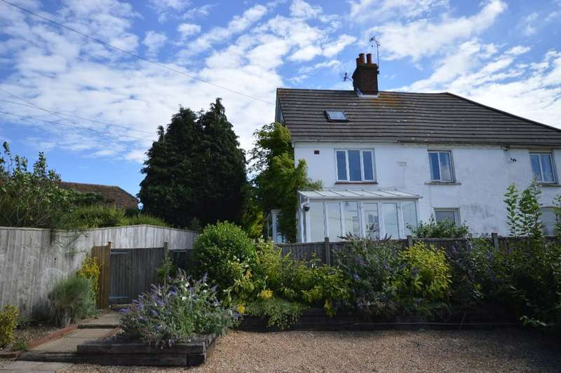 2 Bedrooms Semi Detached House for sale in Boundgate Cottages, Badlesmere, Faversham, ME13